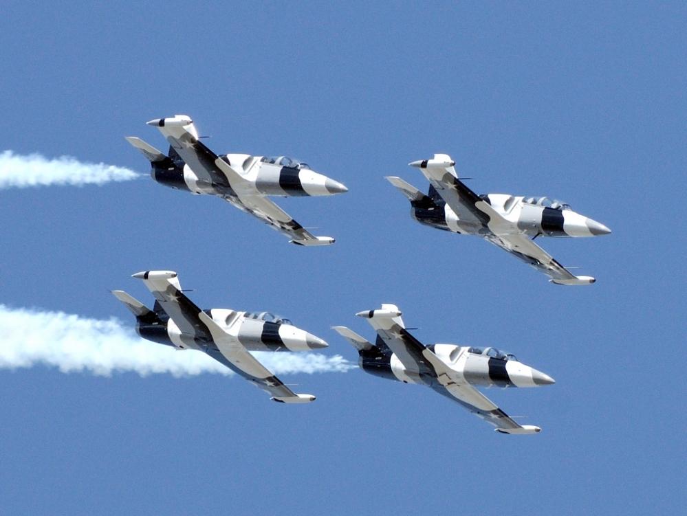 Heavy Metal Jet Team - Florida International Airshow (3/4)